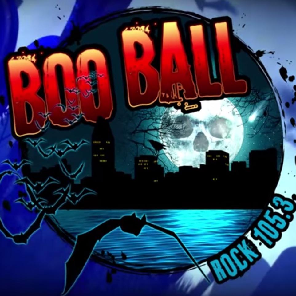 rock 105.3 boo ball party