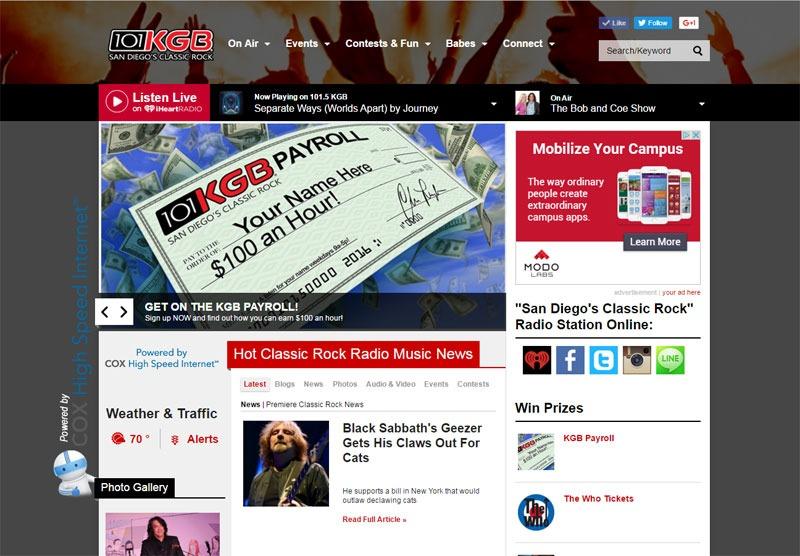 101KGB Website