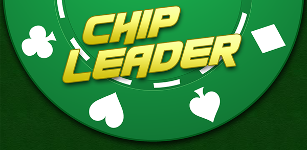 Chip Leader Mobile Poker Tracker Application Header