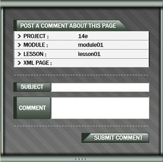 In House Comment GUI