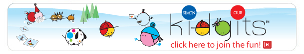 Kidgits Kid's Mall Holiday Web Banner