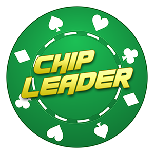Chip Leader - Poker Tracker Mobile Application Design Logo