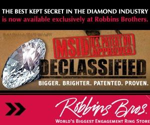 Robbins Brothers 300 x 250 web ad