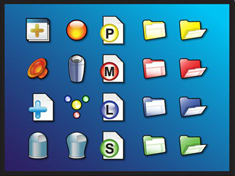 Vector GUI Icons
