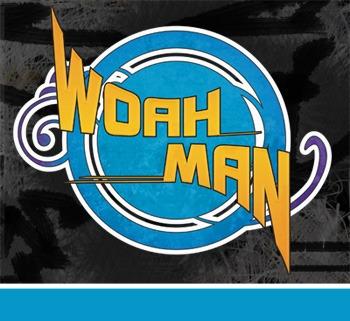 woah man band album cover