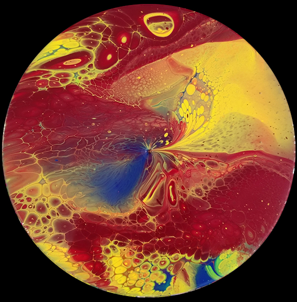 fluid paintings vinyl record